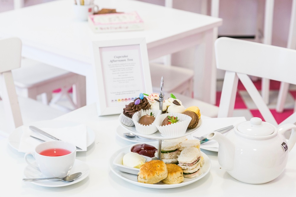 Afternoon Tea at Hey Little Cupcake