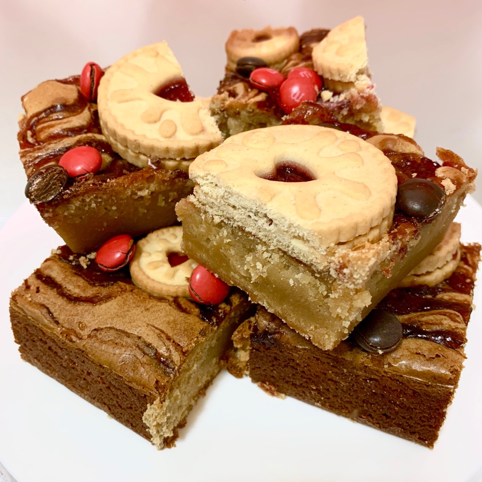 Valentine's Blondie Brownie 2020