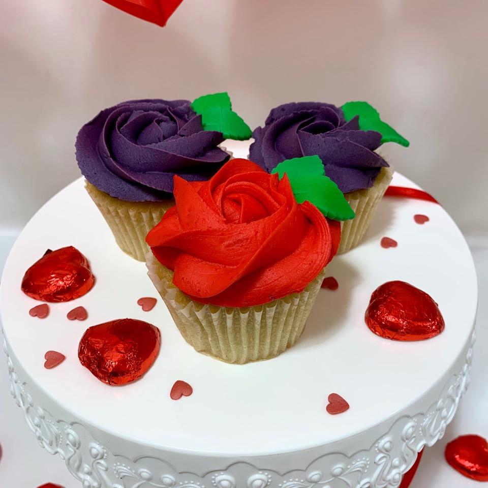 Valentines Single Rose Violet 2020